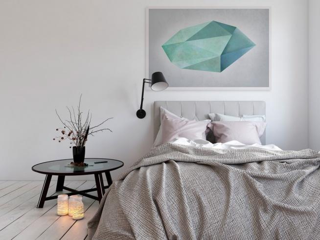 Nieoszlifowany diament - nowoczesny obraz na płótnie
