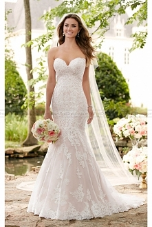 Stella York Romantic Lace Wedding Gown Style 6379
