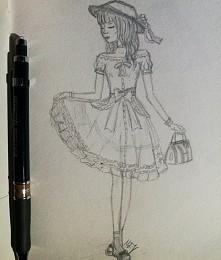mój chyba ulubiony styl i rysowania i ubierania
