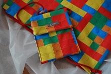 Wodoodporny zestaw - saszetka i plecak  made by turpis