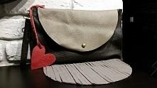 Skórzana kopertówka vintage Tasha handmade fanpage