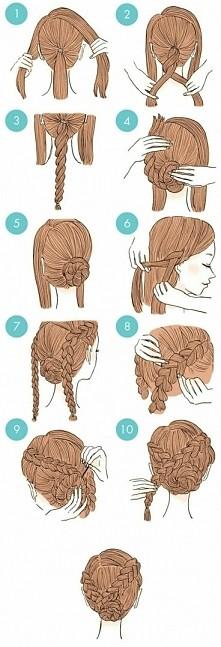 Prosta fryzura a efektowna