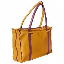 Skórzana torba w pięknym ko...