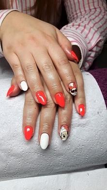 minnie manicure <3 , zobacz wiecej na facebook: Gabinety Kosmetyczne Eureka