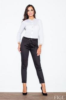 Spodnie z połyskiem. Idealne do klasycznego jak i nowoczesnego stylu.