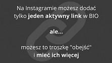 Na Instagramie możesz dodać...