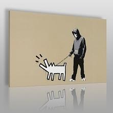 Banksy - Szczekający pies -...