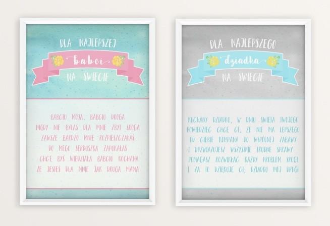 Plakaty I Kartki Do Wydruku Za Darmo Na Dzień Babci I