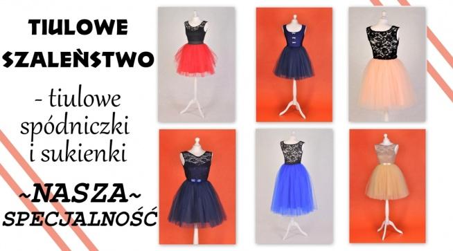 tiulowe sukienki - ArkanyMody.pl