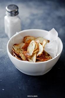 Domowe chipsy ziemniaczane