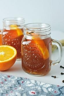 Herbata zimowa z imbirem