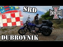 Chorwacja motocyklem, Dubrownik, Srd, Pasjaca, Lovrijenac