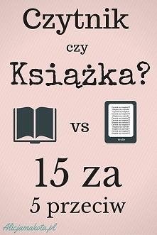 Czytnik czy książka? [KLIK]...