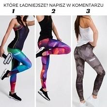 Które legginsy są wg Ciebie najlepsze? Daj znać w komentarzu!