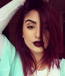 usta  makijaż