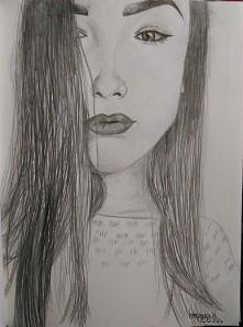 portret siostry w moim wykonaniu :)