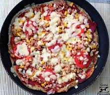 Pizza z patelni! Składniki na ciasto (2 pizze na patelnię o średnicy 28 cm): ...