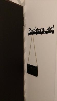 Wieszak na ubrania Rozbieraj się - art-steel.pl
