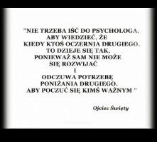 Nie trzeba psychologa