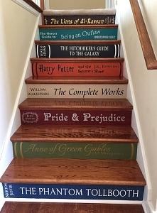 Książkowe schody :)