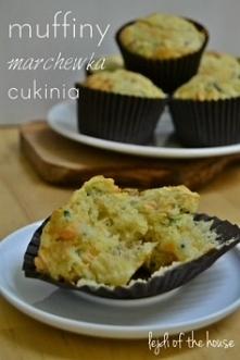 Muffiny z tartymi warzywami i złotymi rodzynkami...  Przepis po kliknięciu w zdjęcie.