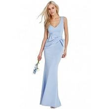 Wyszczuplająca długa sukien...