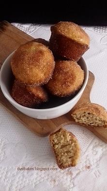 Cynamonowe muffiny a'la pączusie