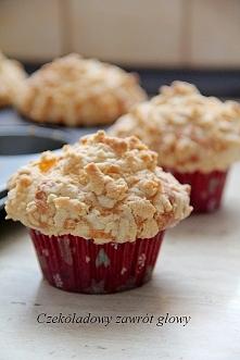 Muffiny z kruszonką  Przepis po kliknięciu w zdjęcie :)