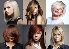 fryzury średnie