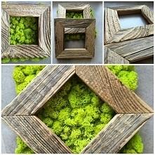 ramki ze starego drewna