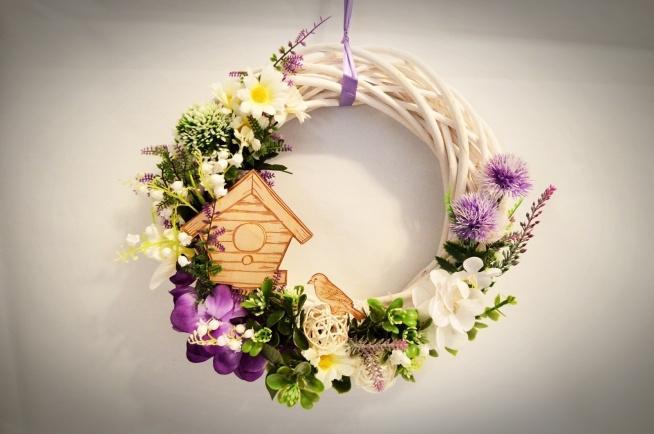 Prześliczny wianek na drzwi lub ścianę ;) Idealny na prezent