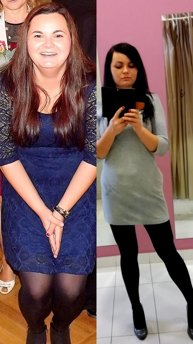Witam, no rok temu bo 2016 lutego 12 zaczęłam się zmieniać waga 88,9..... Dziś 2017 rok waga 67,7 to nie jestem ta waga :D cel jest 60 kg teraz lecę z rzeźbą ciała :) Warto !!!