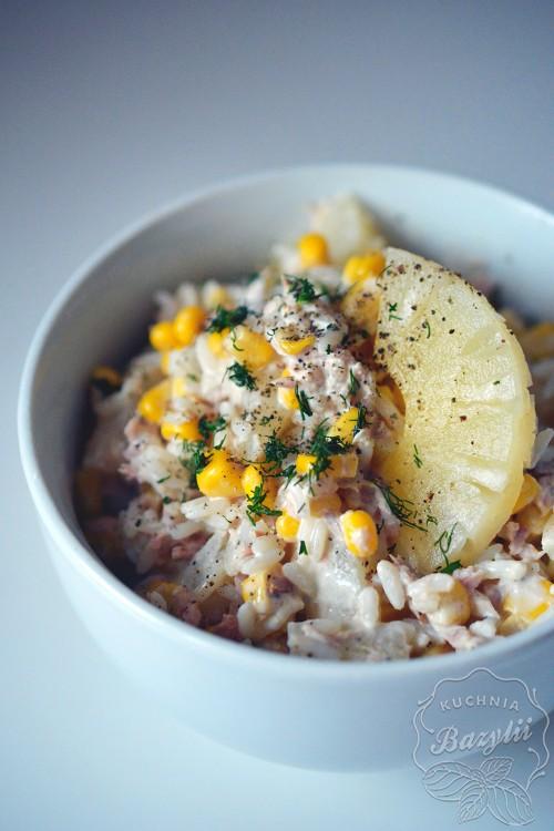Sałatka ryżowa z tuńczykiem...