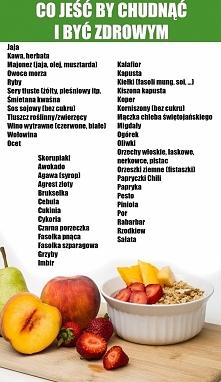 Co jeść by być zdrowym i szczupłym. Część 1. Kolejne części na oddzielnej zsz...