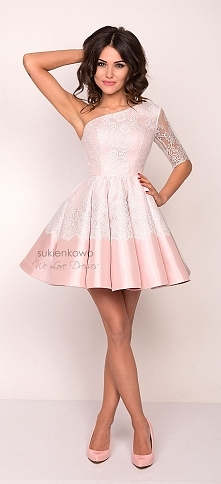 Sukienka na jedno ramię <3 sukienkowo