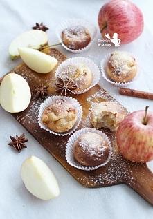 Korzenne babeczki z jabłkami  Przepis po kliknięciu w zdjęcie!