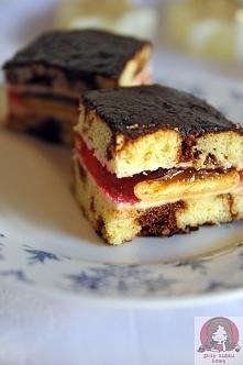 Pyszne łaciate ciasto  Prze...