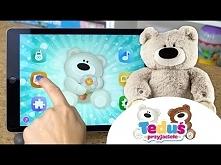 Miś Teduś , interaktywny miś, TM Toys