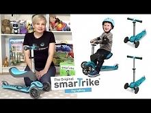 Hulajnoga Smart Trike Scooter T1, Marko
