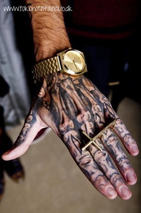 Szkielet Dłoni Na Dream Of Tattoo Zszywkapl