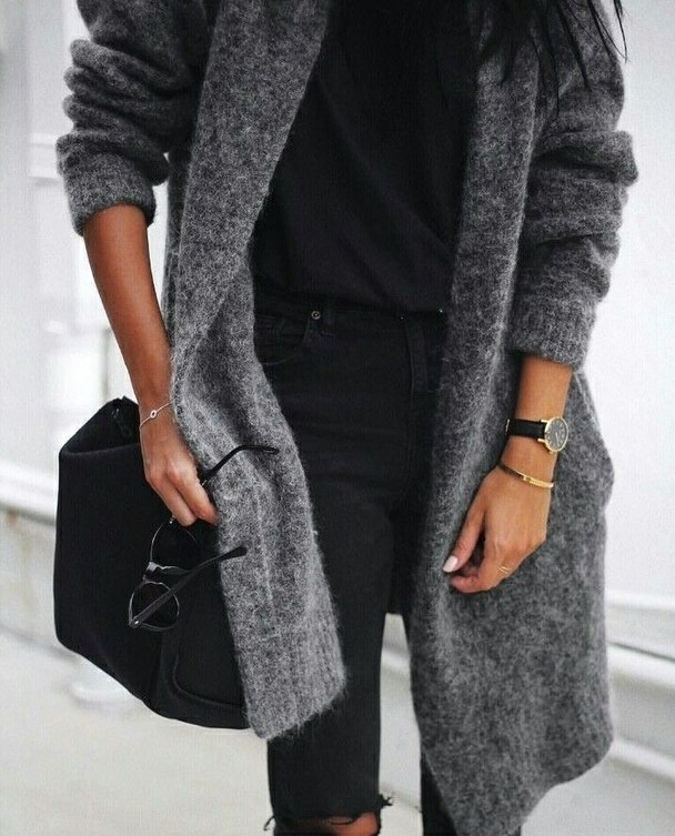 # długi sweter