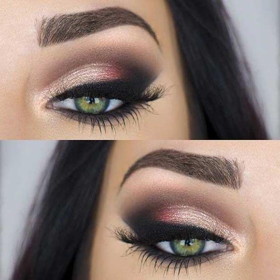Zielone Oczy Makijaż Na Makijaż Zszywkapl