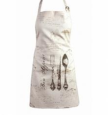 FARTUCH KUCHENNY SZTUĆCE  Stan: Nowy produkt  Śliczny fartuch kuchenny z kolekcji BON APPETIT . Praktyczny fartuch kuchenny uszyty z wysokiej jakości tkaniny. Z przodu ozdobiony...