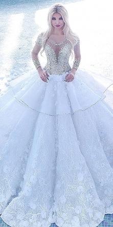 Disnejowska suknia ślubna