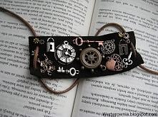 Steampunkowa bransoletka! Werterownia handmade ;)