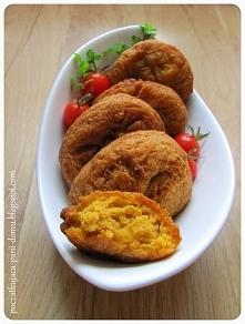 Pączki ze słodkich ziemniaków