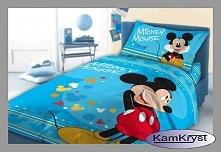 Dziecięca pościel do łóżeczka Disney 100x135 z postacią Myszki Miki - nowość w naszym sklepie.
