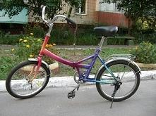 Artystyczne malowanie na rowerze. Praca mojego meża
