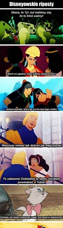 Disney, uczy nas riposty od najmłodszych lat! ;D