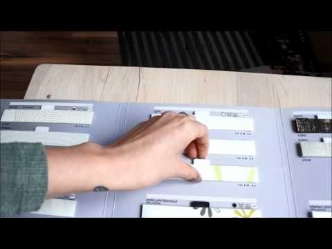 ENERGICZNE materiały do plis. Rolety plisowane firmy Domowe Pielesze